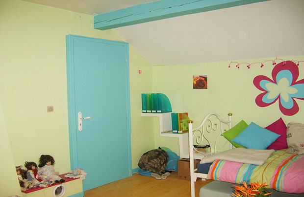 D coration chambre color vert bleu rose cool elya b - Sophie ferjani decoratrice tarif ...